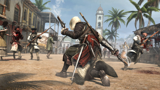 Assassin's Creed 4 Gunplay