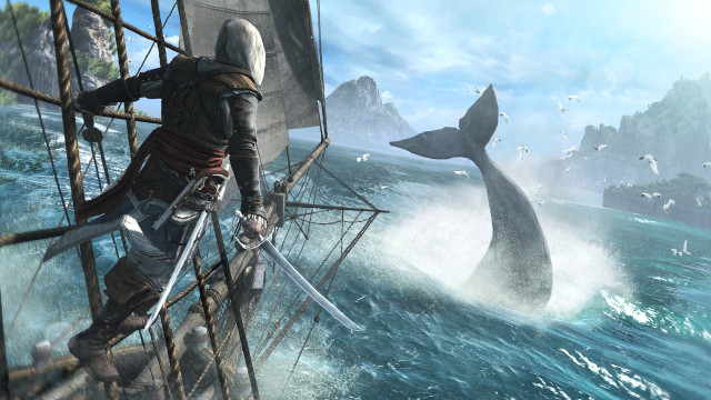 Assassin's Creed 4 Whale Hunting