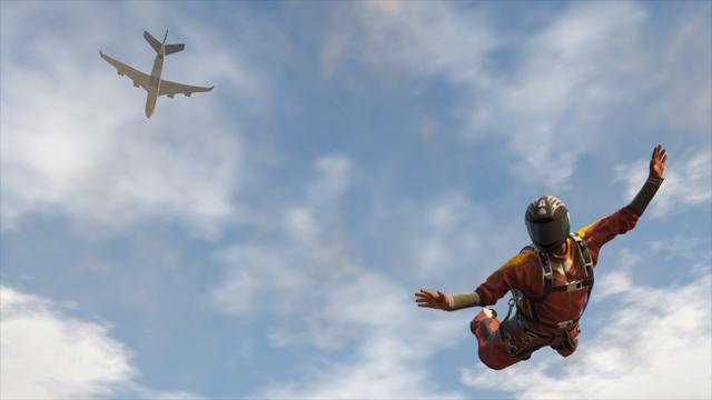 GTAV Sky Diving