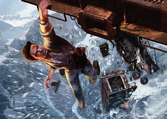 Uncharted 2 Among Thieves Opening Train Blizzard