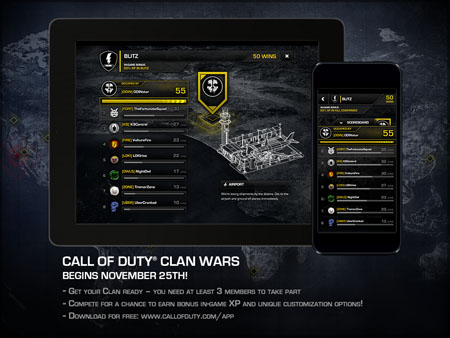 Call of Duty Ghosts Clan Wars Announcement