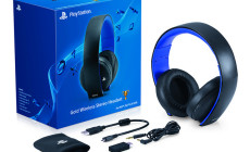 PS Gold Headset PS4 PS3 PS Vita PC wireless