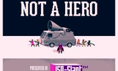 Not A Hero - Teaser Art
