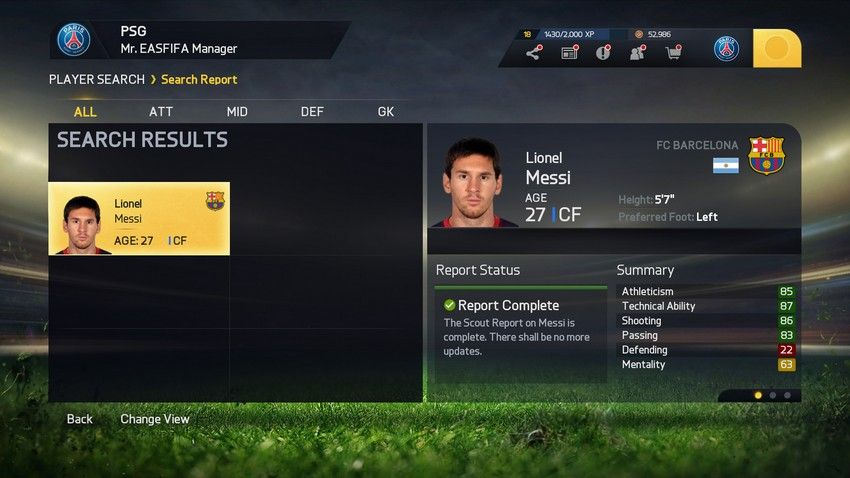Fifa 15 Career Mode Potential
