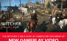 Witcher 3 Gameplay Demo 35 Minutes GamesCom