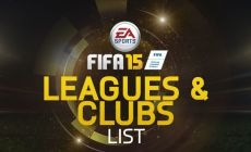 FIFA 15 All Clubs and Leagues Details