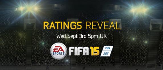 Fifa 15 player ratings