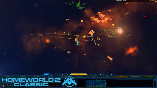 Homeworld Remastered Collection Gameplay Gearbox 4