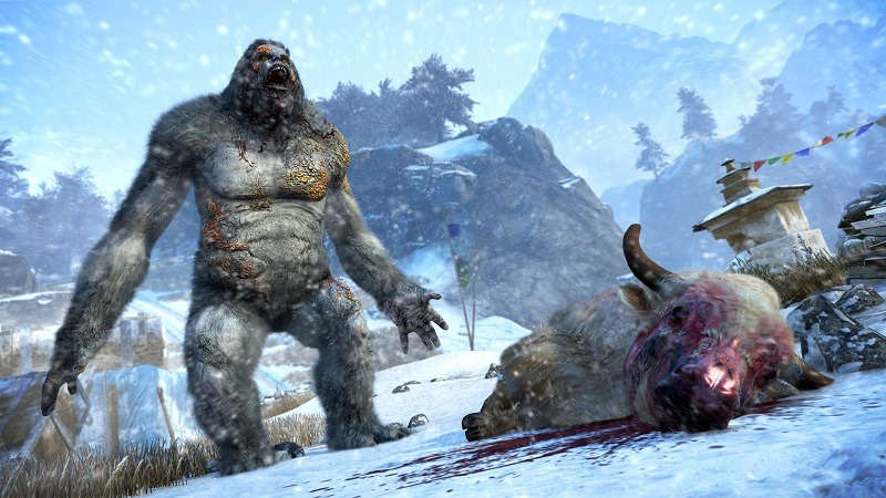 Trailer Far Cry 4 S Valley Of The Yetis Dlc Is Out Tomorrow Onpause