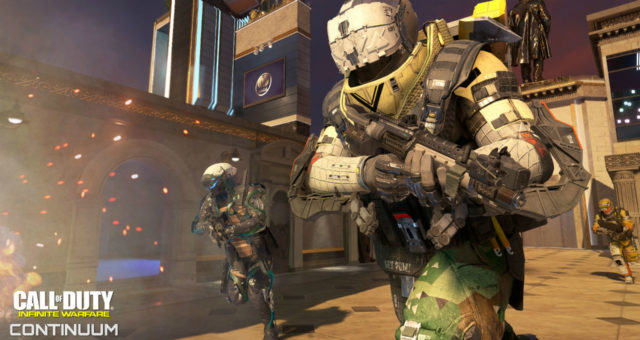 CONTINUUM DLC Infinite Warfare Modern Warfare 2 Rust Call of Duty